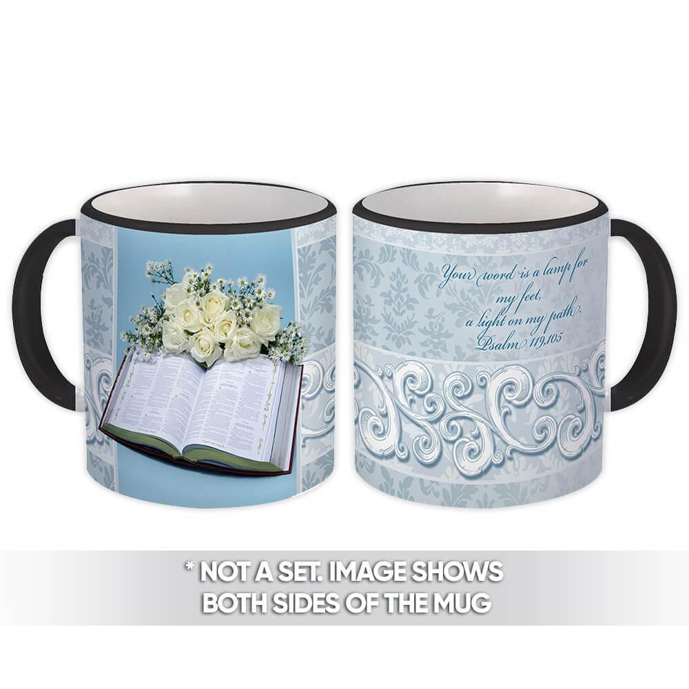 Holy Bible : Gift Mug Catholic Religious Saint Religion Classic Faith