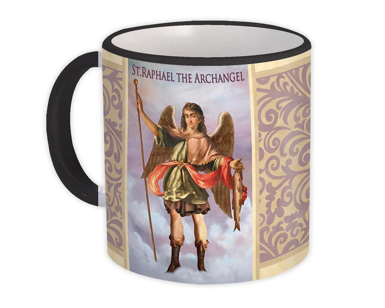 St. Raphael The Archangel : Gift Mug Catholic Religious Saint
