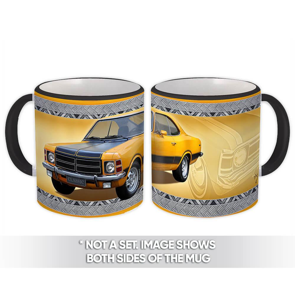Yellow Opala : Gift Mug Car Vintage Old Antique for Man Collector