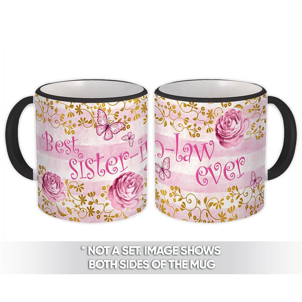 Best Sister-in-law : Gift Mug Funny Family Christmass Birthday