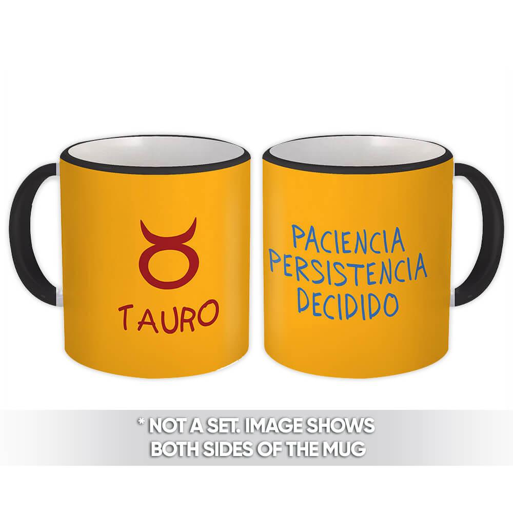Tauro : Gift Mug Signo Zodiaco Esoterico Horóscopo Astrologia