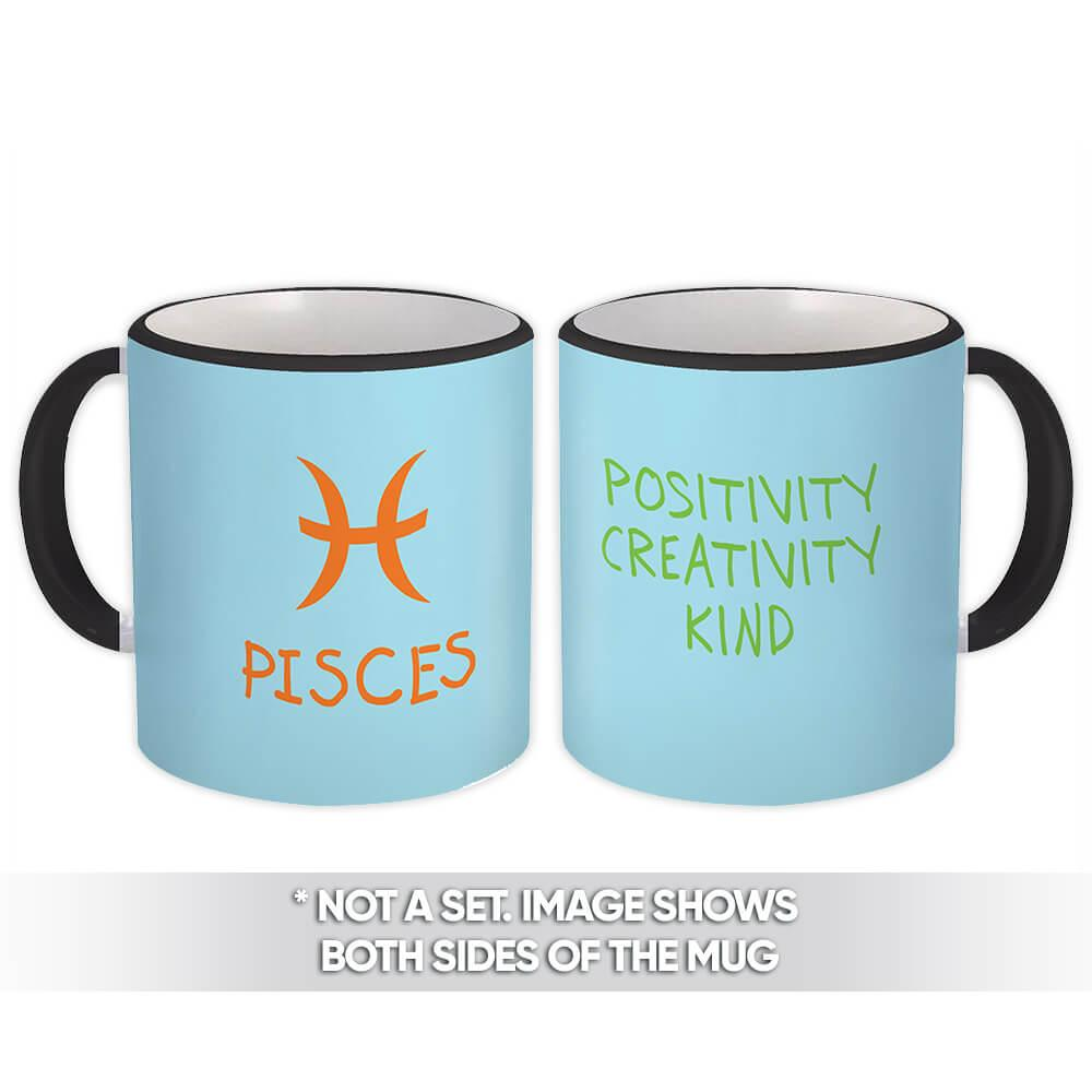 Pisces : Gift Mug Zodiac Esoteric Signs Horoscope Astrology