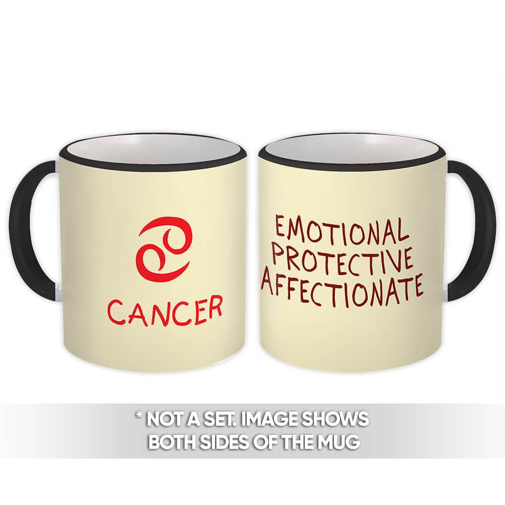 Cancer : Gift Mug Zodiac Esoteric Signs Horoscope Astrology