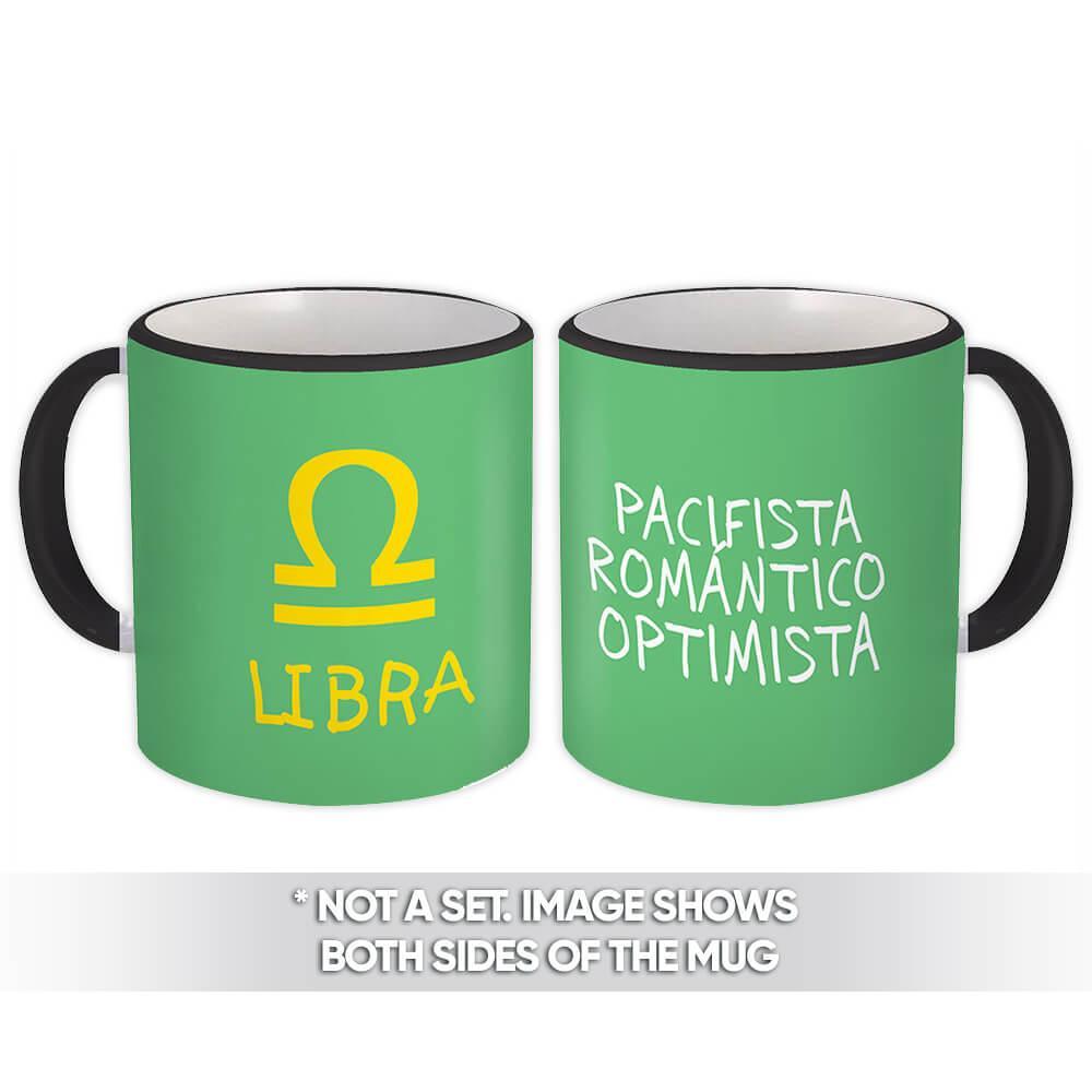 Libra : Gift Mug Signo Zodiaco Horóscopo Astrologia Esoterico