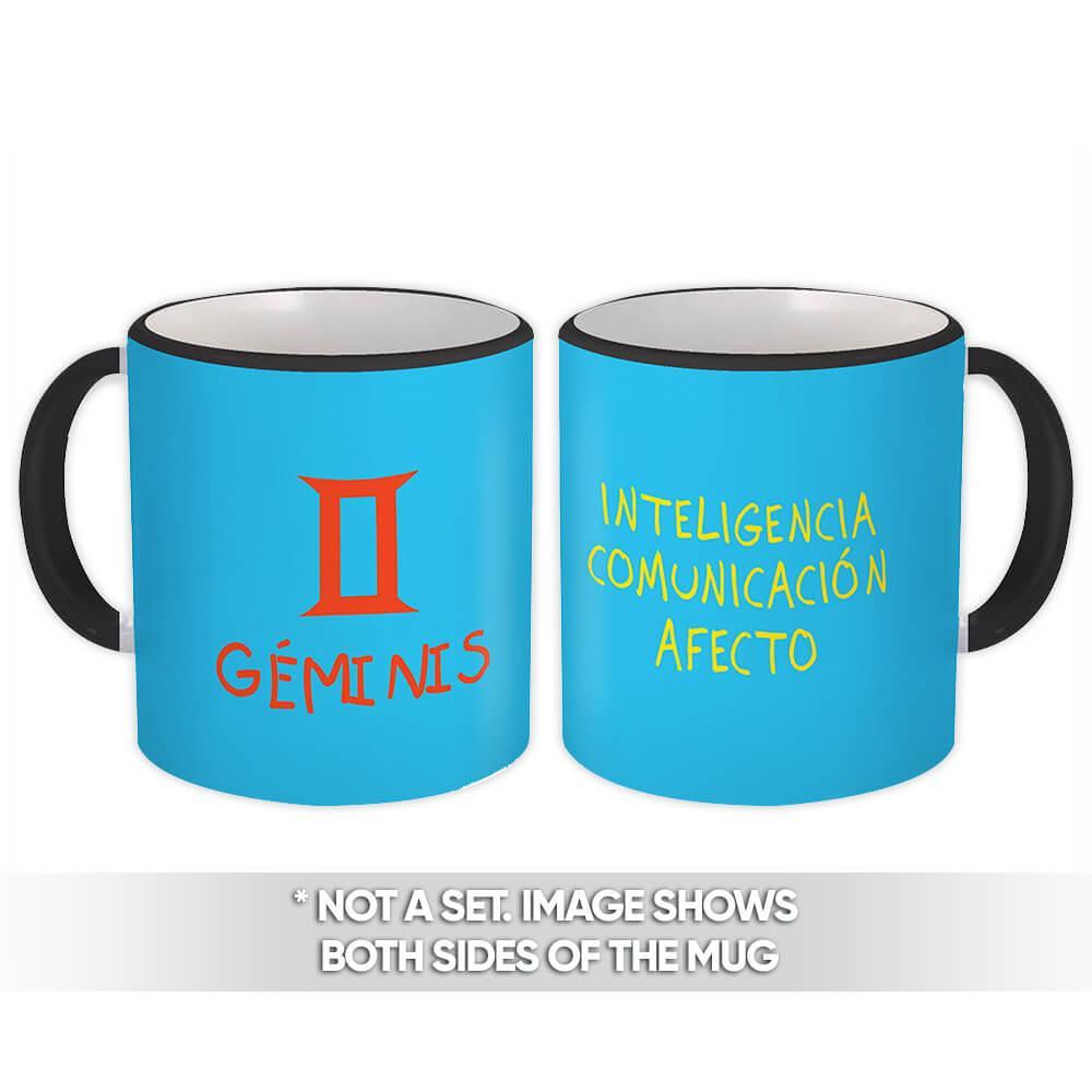 Géminis : Gift Mug Signo Zodiaco Esoterico Horóscopo Astrologia