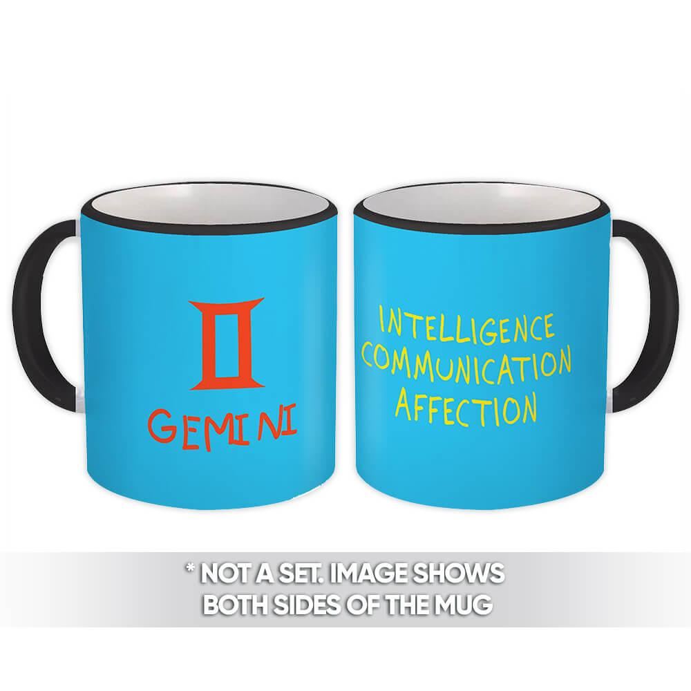 Gemini : Gift Mug Zodiac Esoteric Signs Horoscope Astrology
