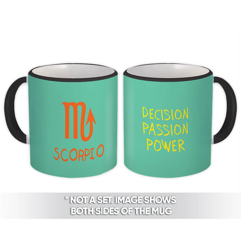 Scorpio : Gift Mug Zodiac Esoteric Signs Horoscope Astrology