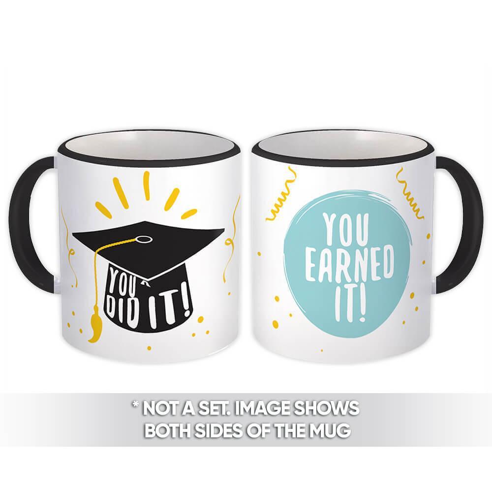 You Did It! : Gift Mug Profession Job Work Coworker Occupation Graduation