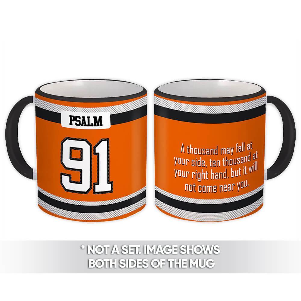 Psalm 91 : Gift Mug Christian Religious Jesus God Faith