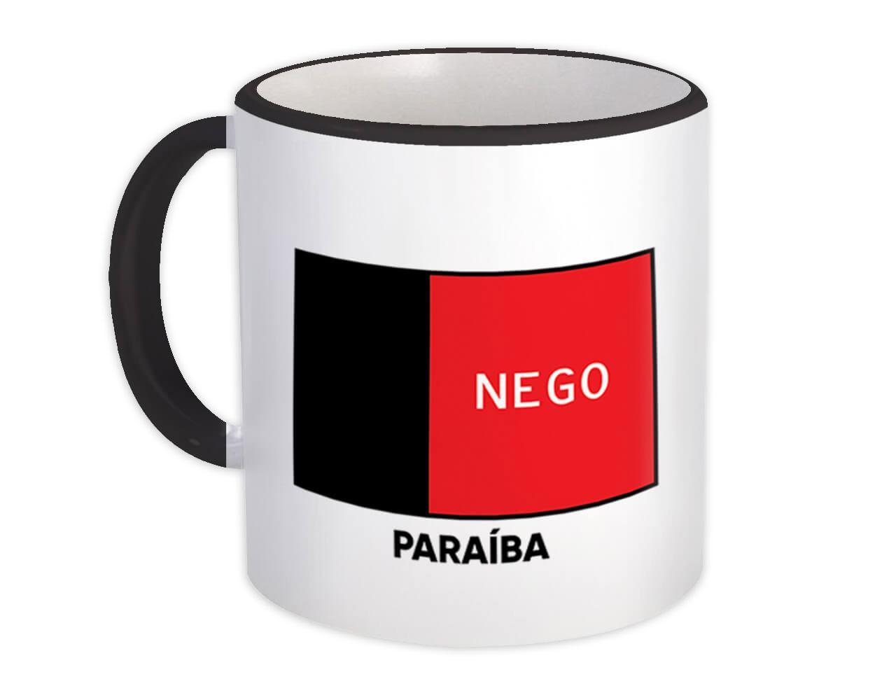 Paraiba : Gift Mug Brazil Flag Country State Brasil Estado