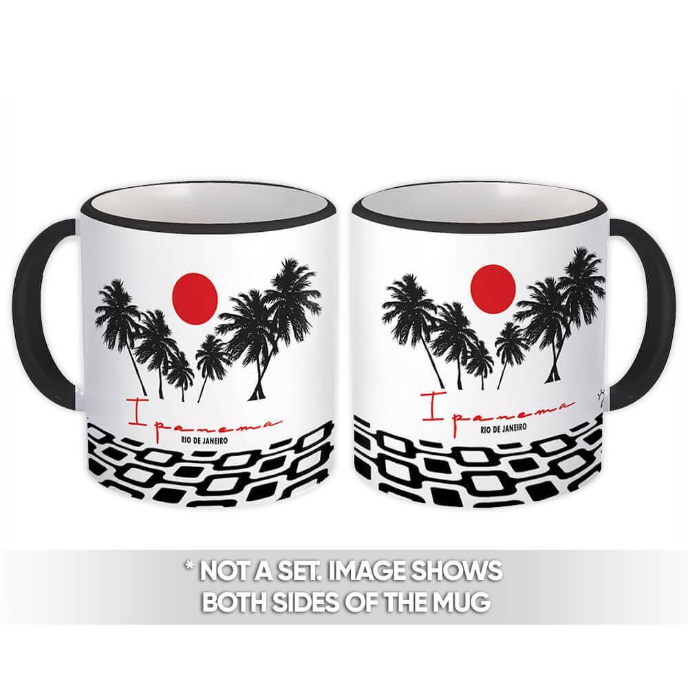 Rio de Janeiro Ipanema : Gift Mug Brazil Brasil Souvenir Cup