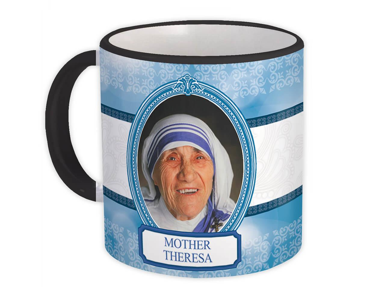 Mother Teresa : Gift Mug Catholic Religious Saint Kolkata Theresa