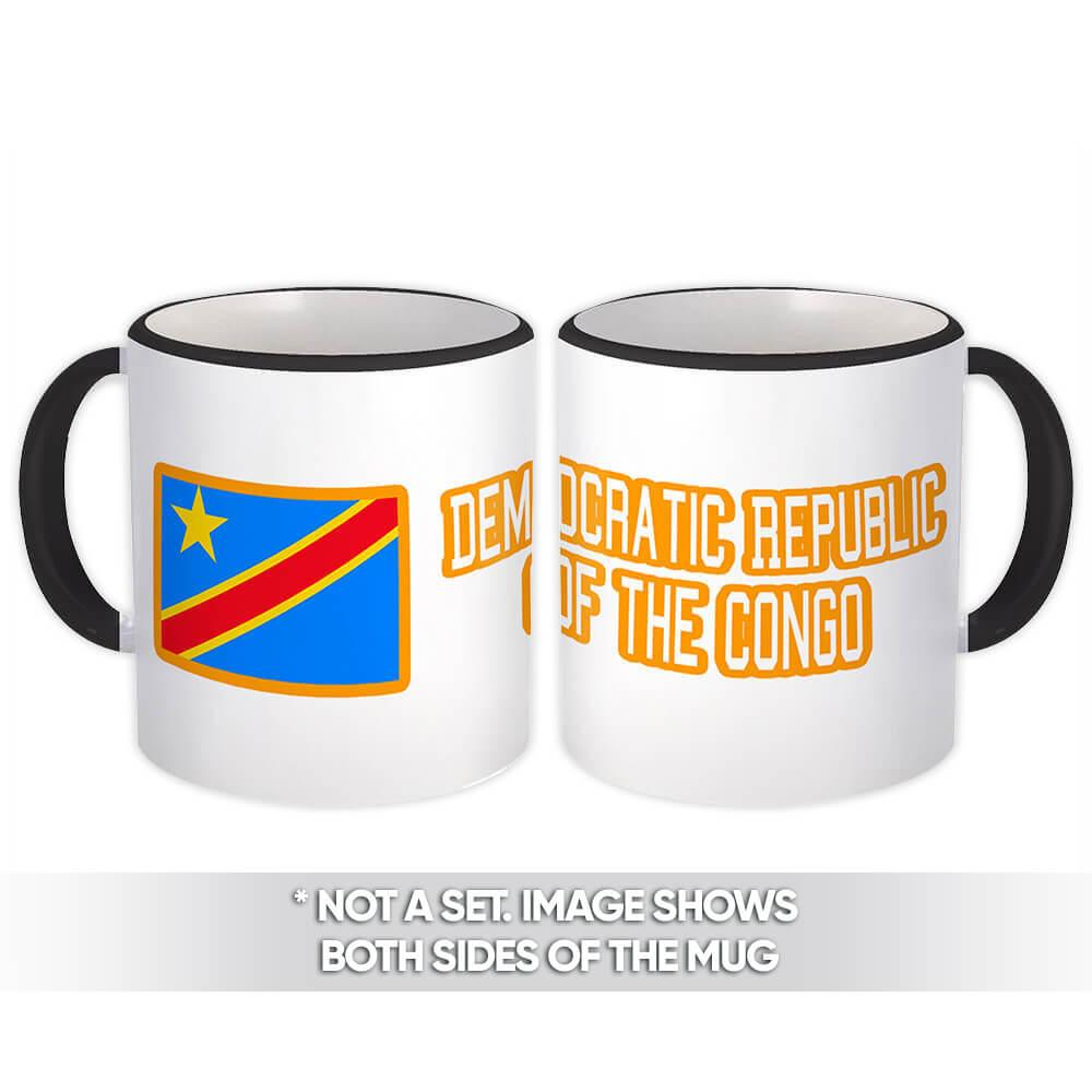Democratic Republic of the Congo : Gift Mug Flag Congolese Expat Country