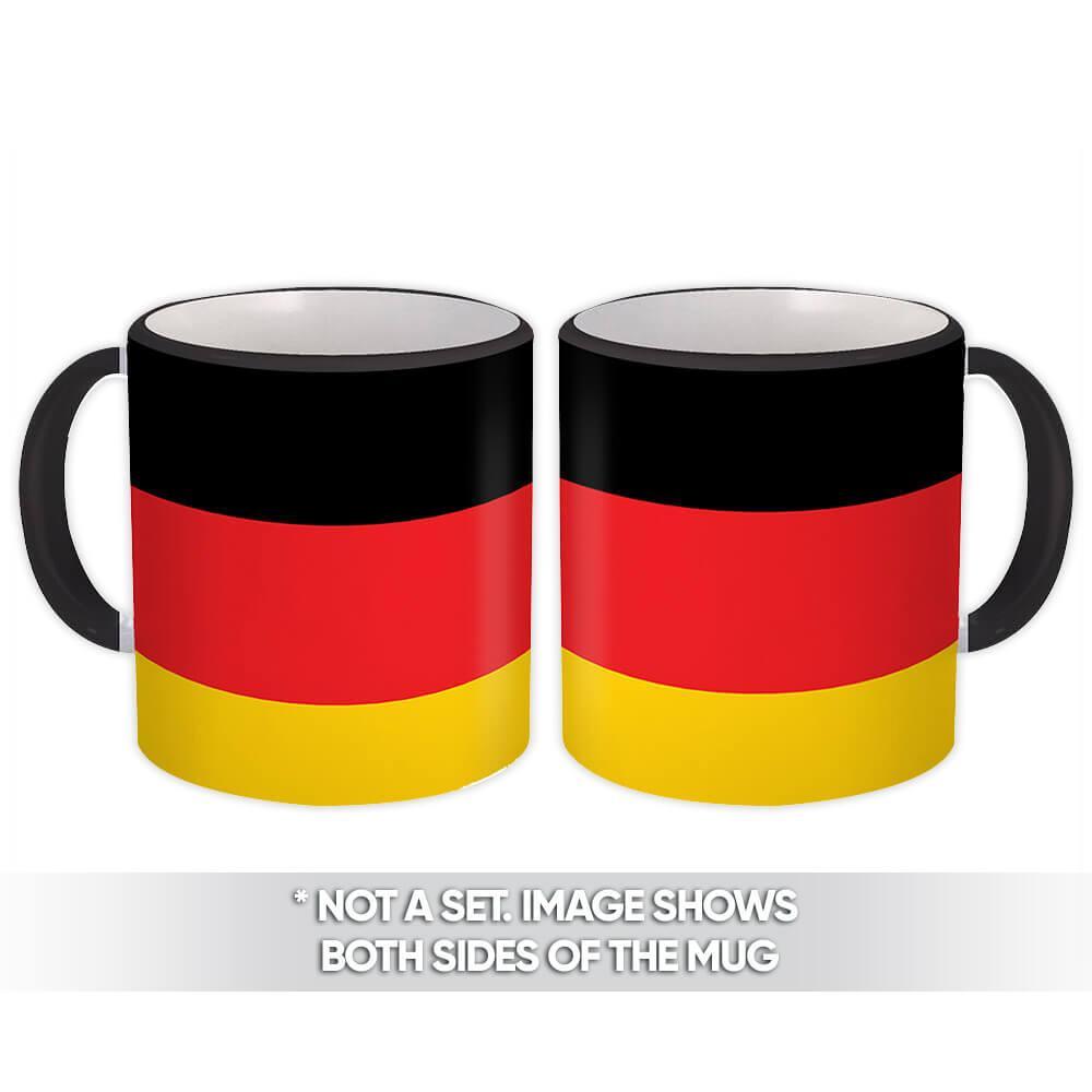 Germany : Gift Mug Flag Pride Patriotic Expat German Country