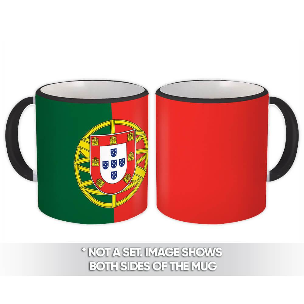 Portugal : Gift Mug Flag Pride Patriotic Expat Portuguese Country