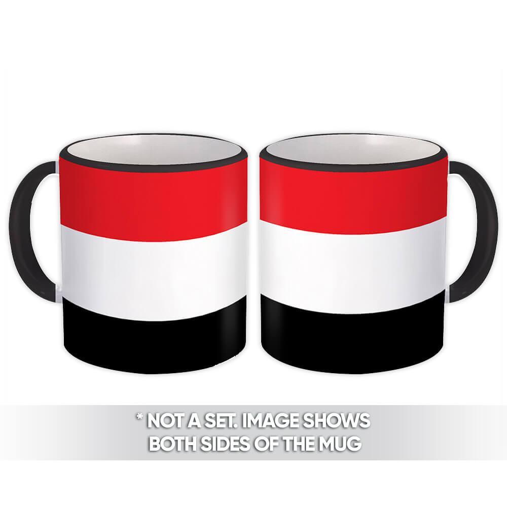 Yemen : Gift Mug Flag Pride Patriotic Expat Yemeni Country