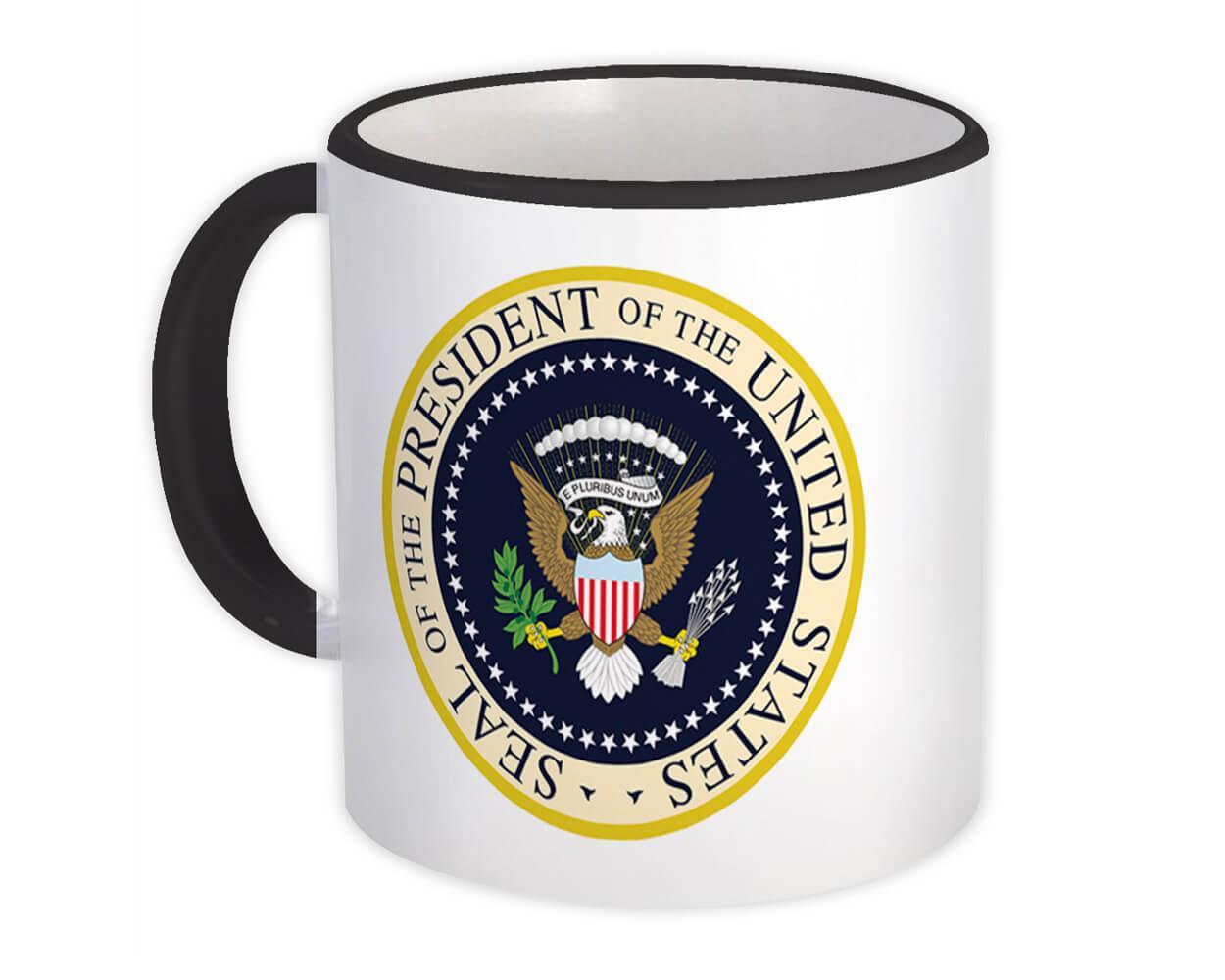 Presidential Seal : Gift Mug American Patriot Trump USA United States