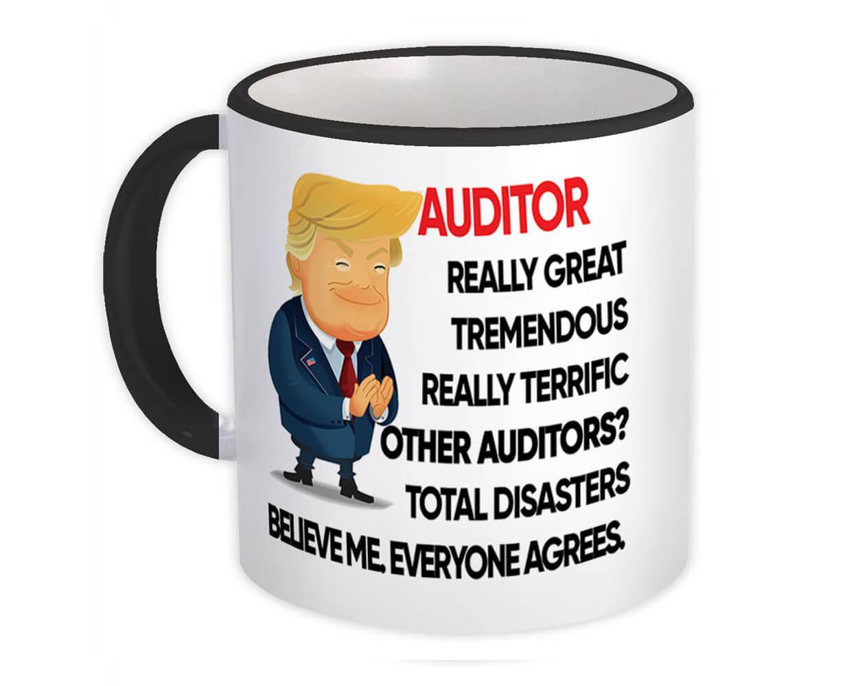 AUDITOR Funny Trump : Gift Mug Terrific AUDITOR Birthday Christmas Gift