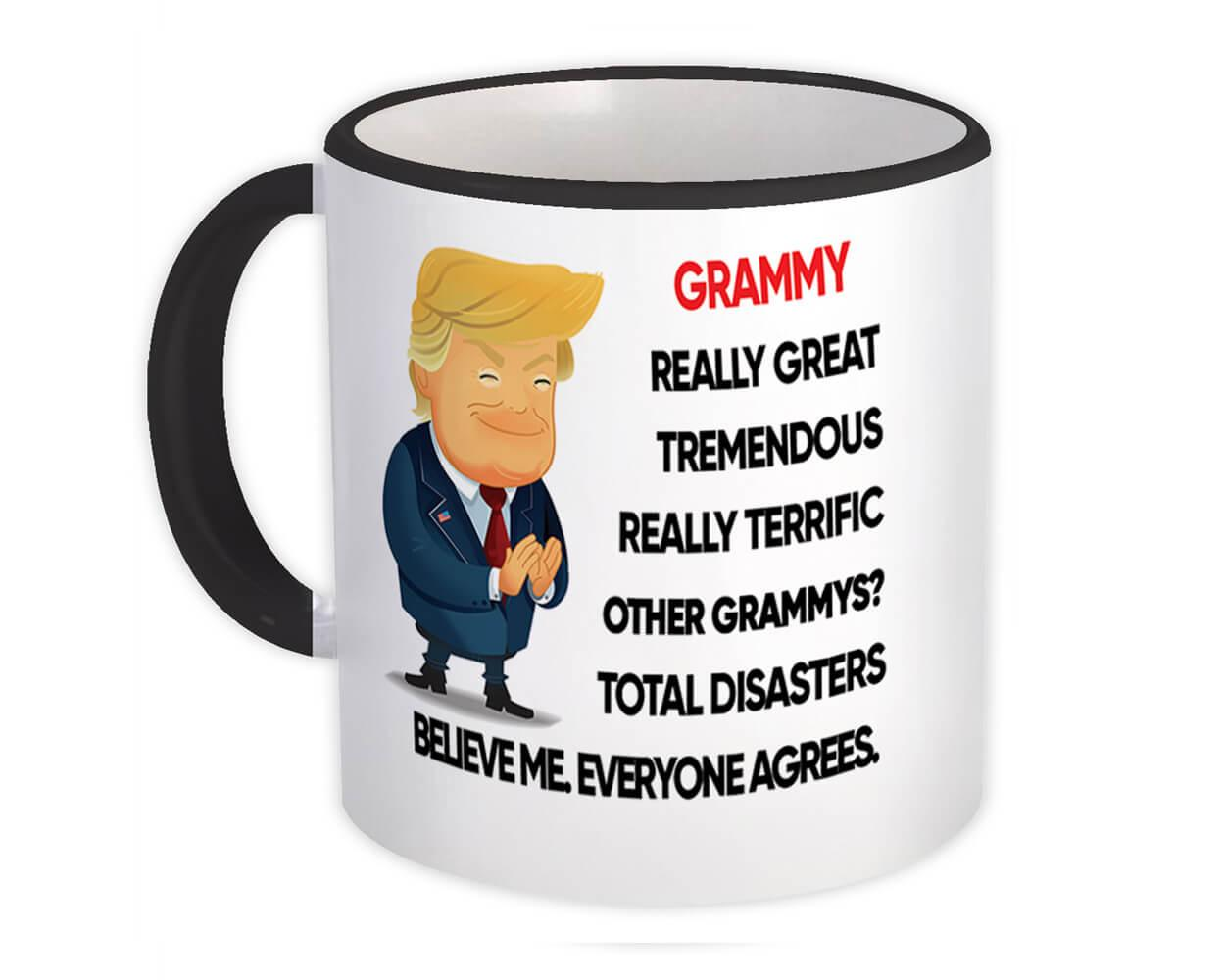 GRAMMY Funny Trump : Gift Mug Terrific Christmas Humor Relative Birthday GRANDMA