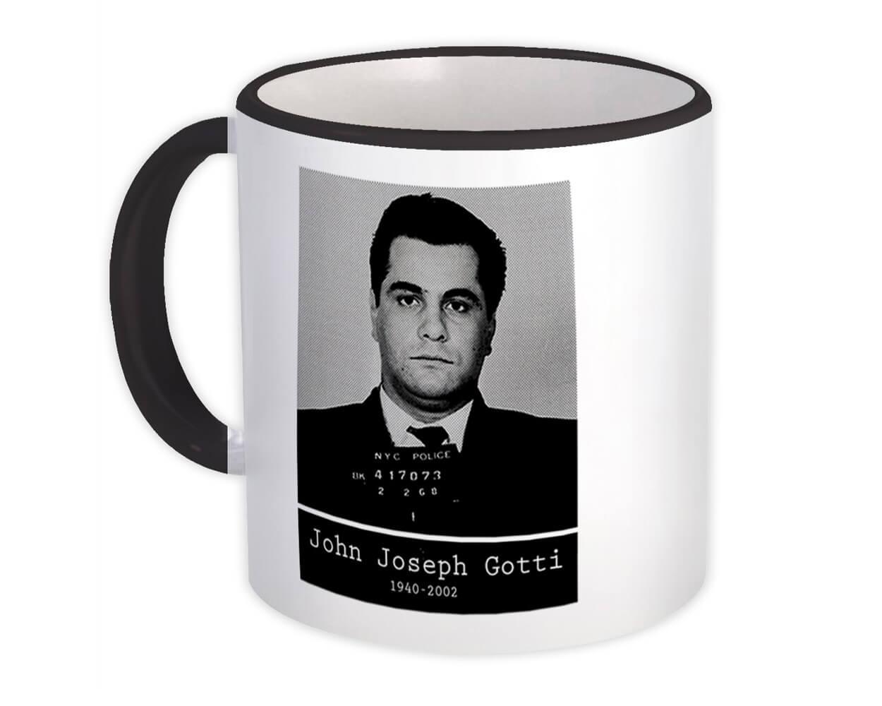 John Joseph Gotti : Gift Mug Mug Shot Mob Gangster Italian