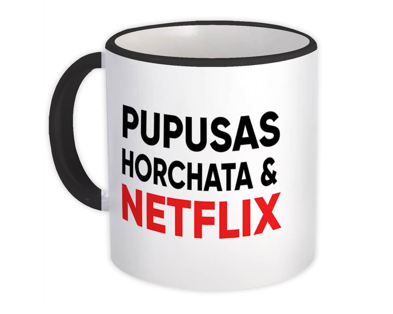 Pupusas Horchata Netflix : Gift Mug Honduras El Salvador Honduran Salvadorian