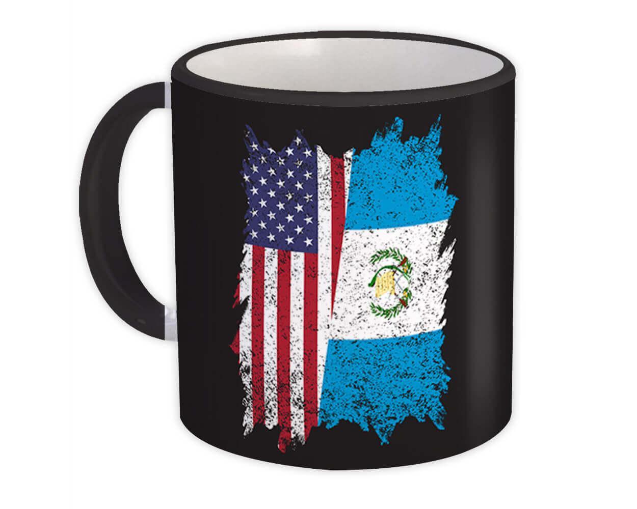 United States Guatemala : Gift Mug American Guatemalan