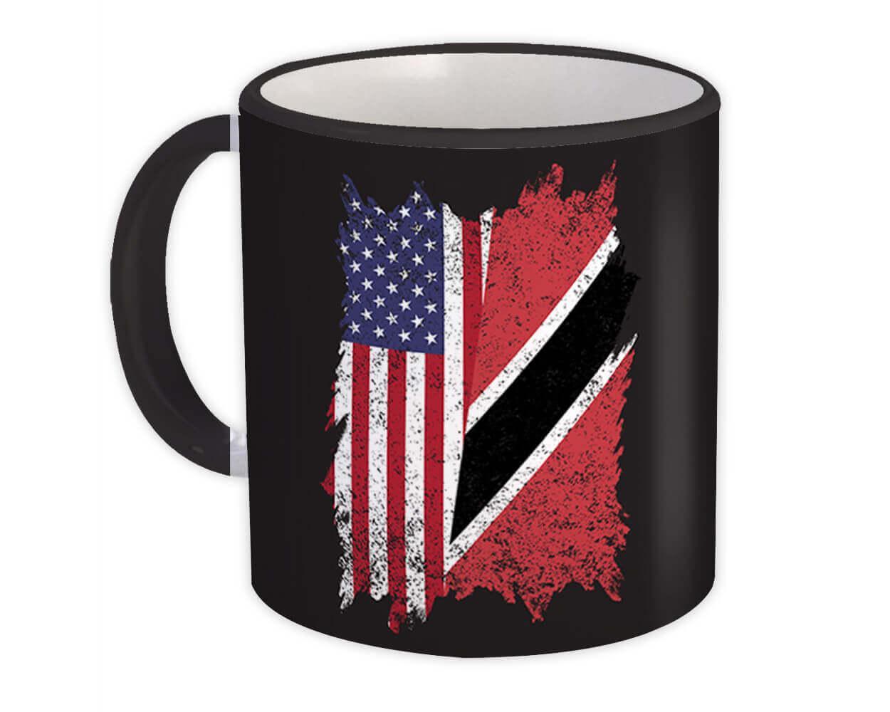 United States Trinidad and Tobago : Gift Mug American Trinidadian