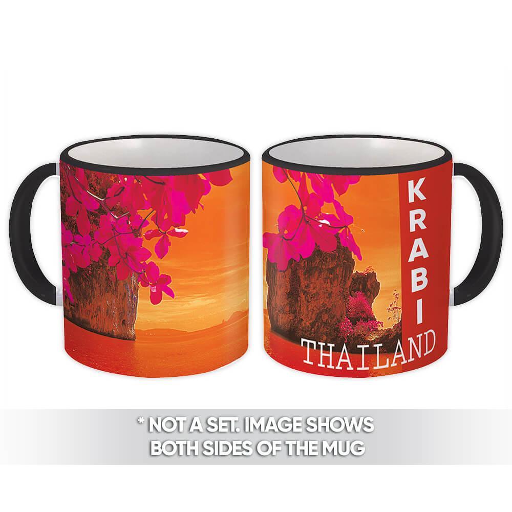 Thailand Krabi : Gift Mug Country Flag James Bond Island Beach Pride
