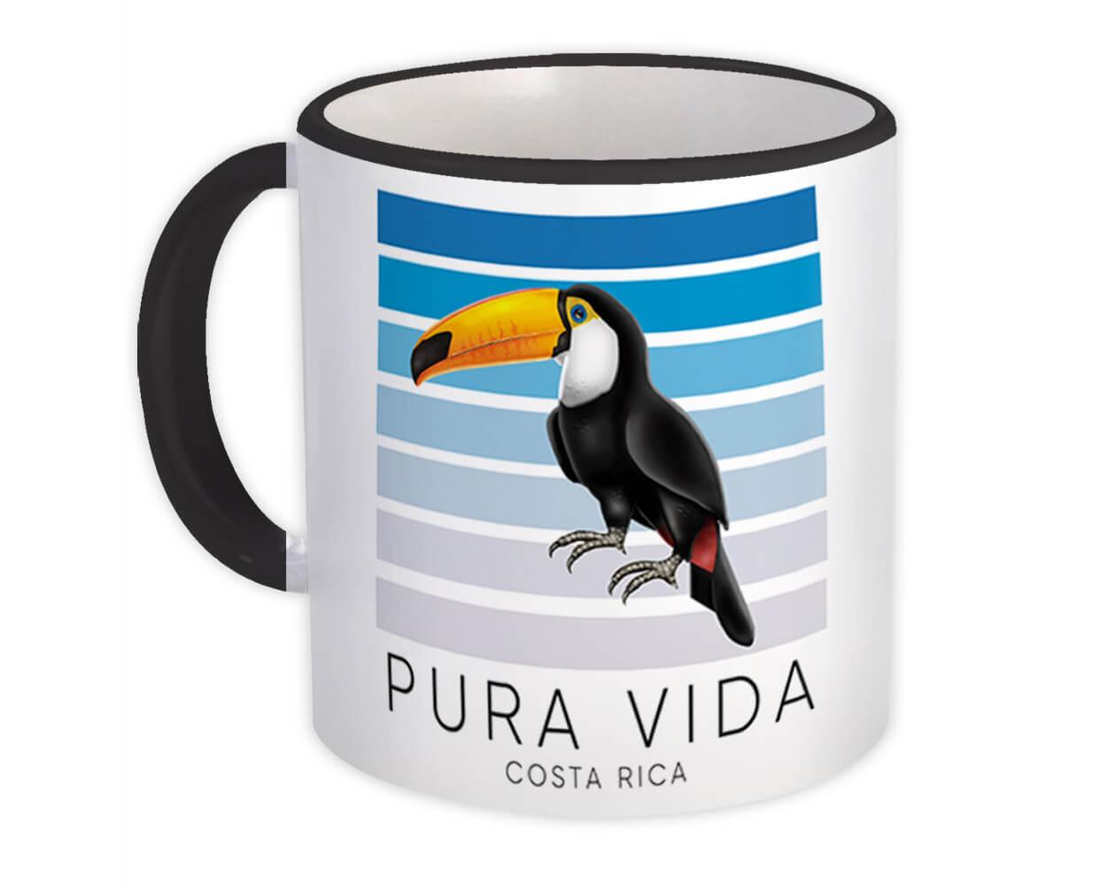 Toucan Pura Vida Costa Rica : Gift Mug Bird Tropical Animal