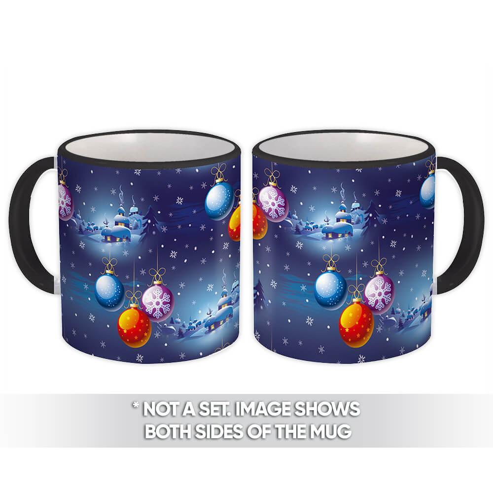 Christmas Ornaments : Gift Mug Decor Snow Holidays Xmas