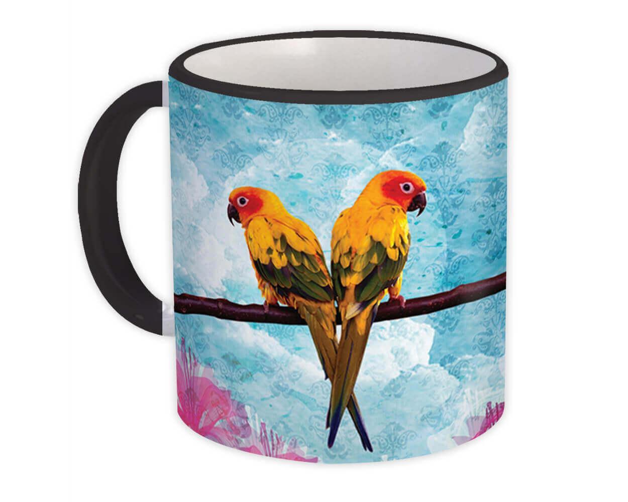 Lorikeet Bird : Gift Mug Cute Decor Bird Lover Ecology Nature Aviary