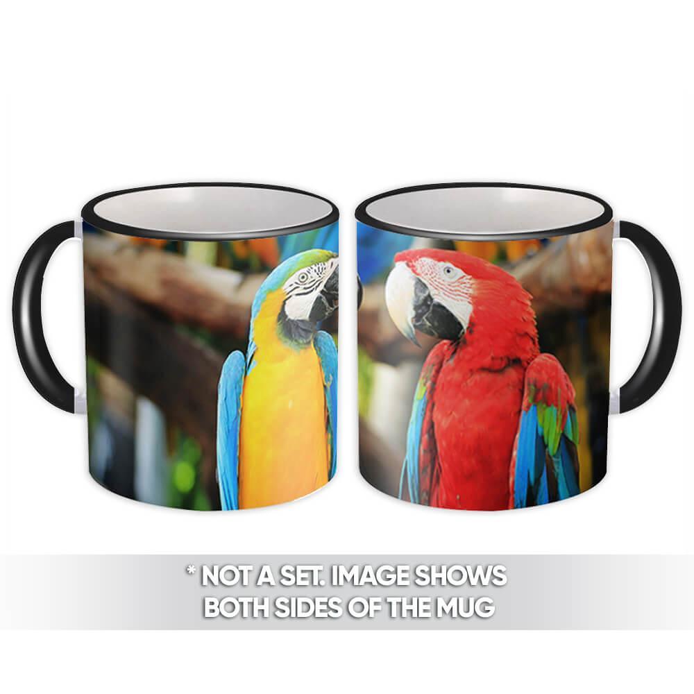 Macaw : Gift Mug Parrot Bird Animal Cute Ecology Nature Aviary