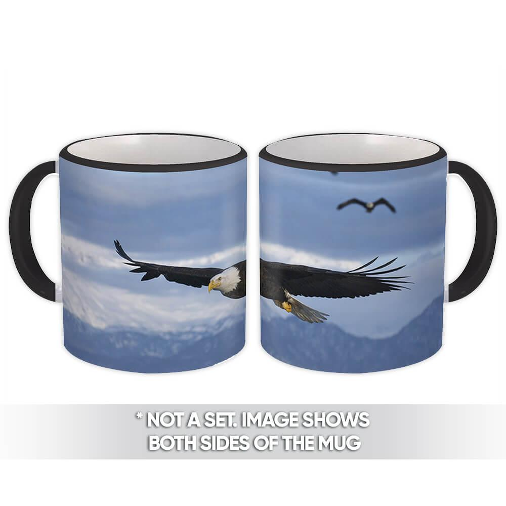 Bald Eagle : Gift Mug Bird Nature USA American Patriotic Animals 4th July