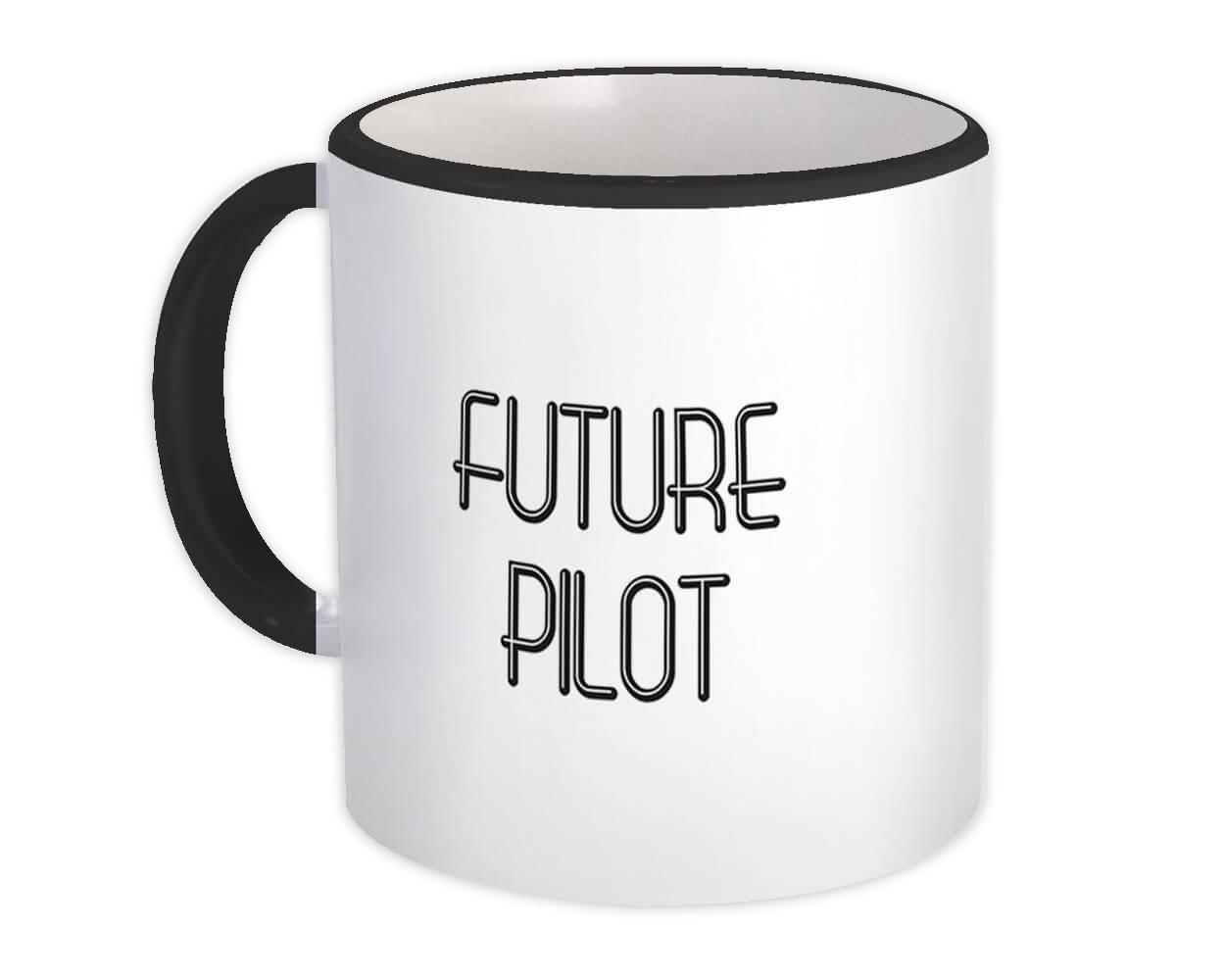 Future PILOT : Gift Mug Profession Office Birthday Christmas Coworker