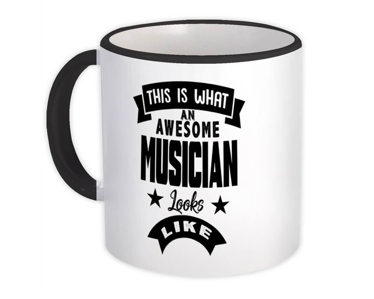 This is What an Awesome MUSICIAN Looks Like : Gift Mug Work Coworker Christmas
