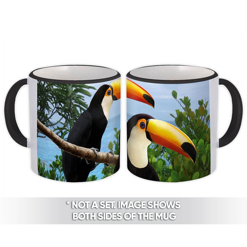 Toucan : Gift Mug Nature Bird Brazil Costa Rica Tropical Animal Eco