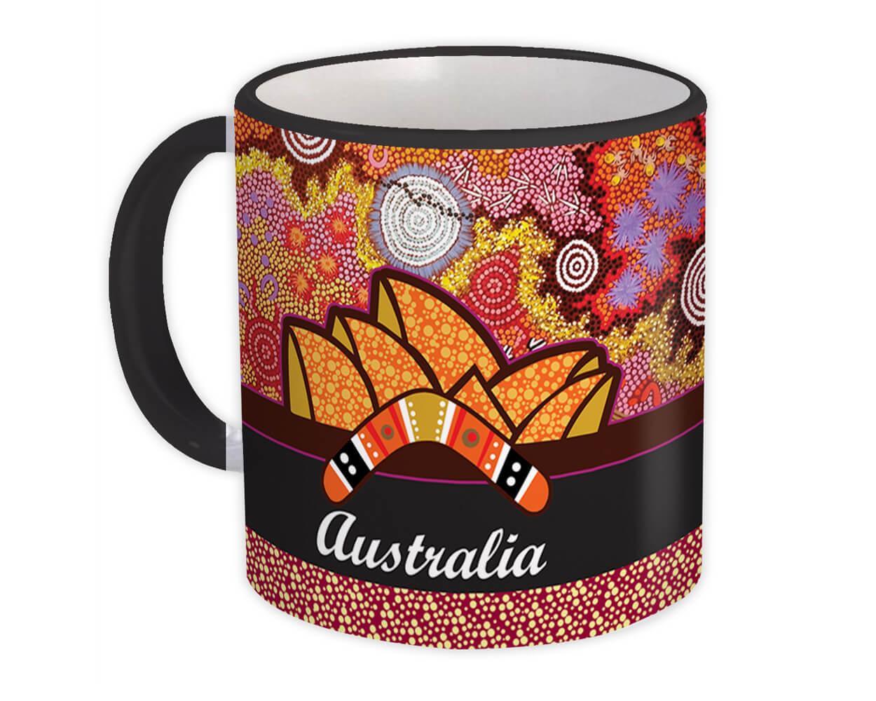 Australia Sydney Opera House : Gift Mug Country Flag Pride Australian Souvenir