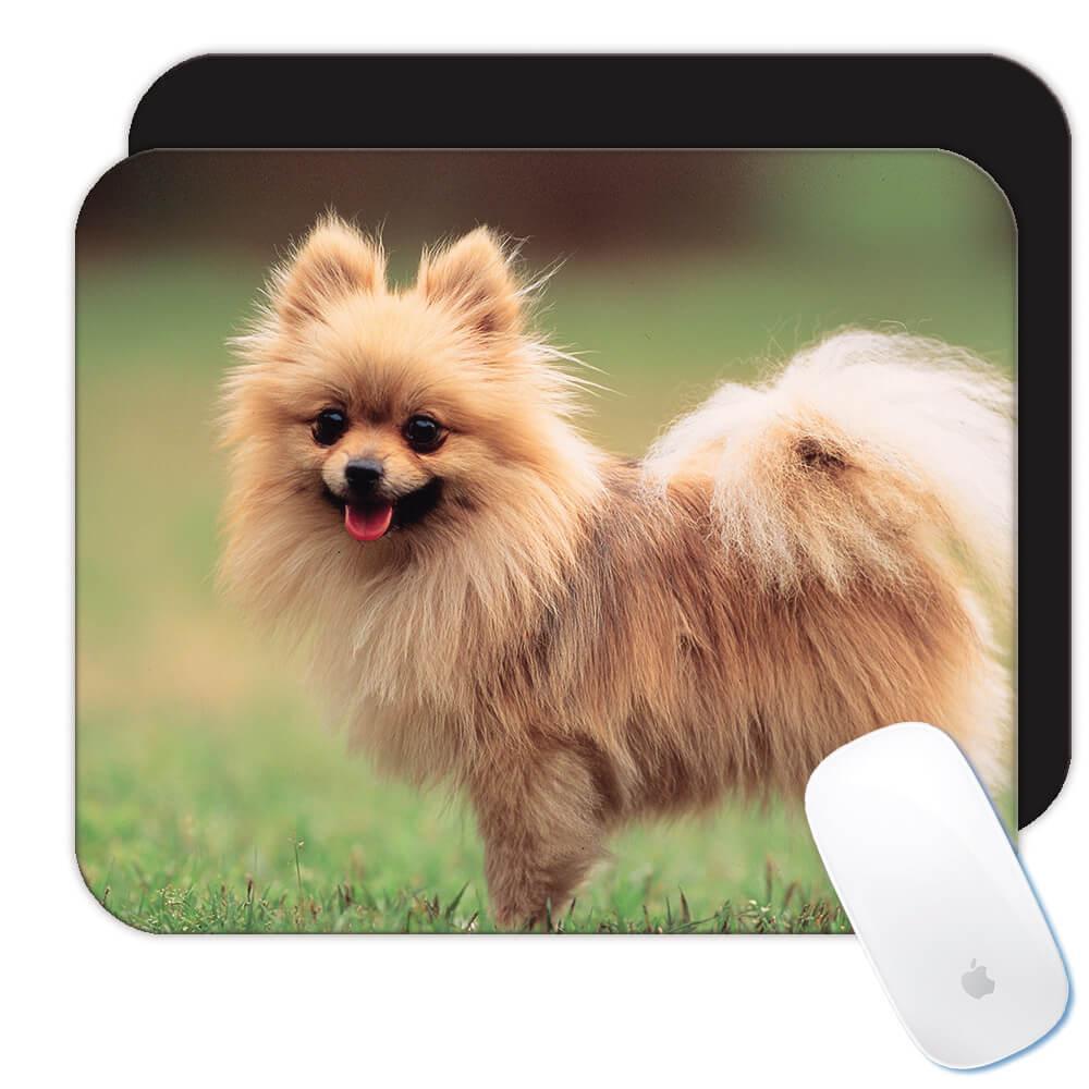 Pomeranian My Spirit Animal : Gift Mousepad Dog Pet Puppy Animal Cute