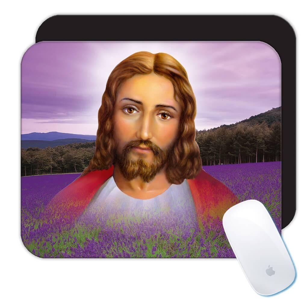 Jesus Christ : Gift Mousepad Catholic Religious Religion Classic Faith