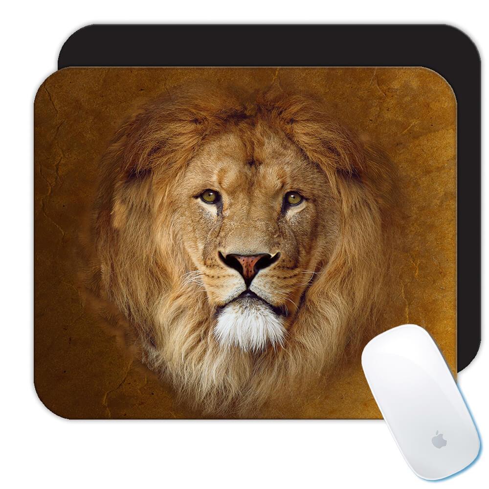 Lion of Judah : Gift Mousepad Christian Religious Jesus God Faith