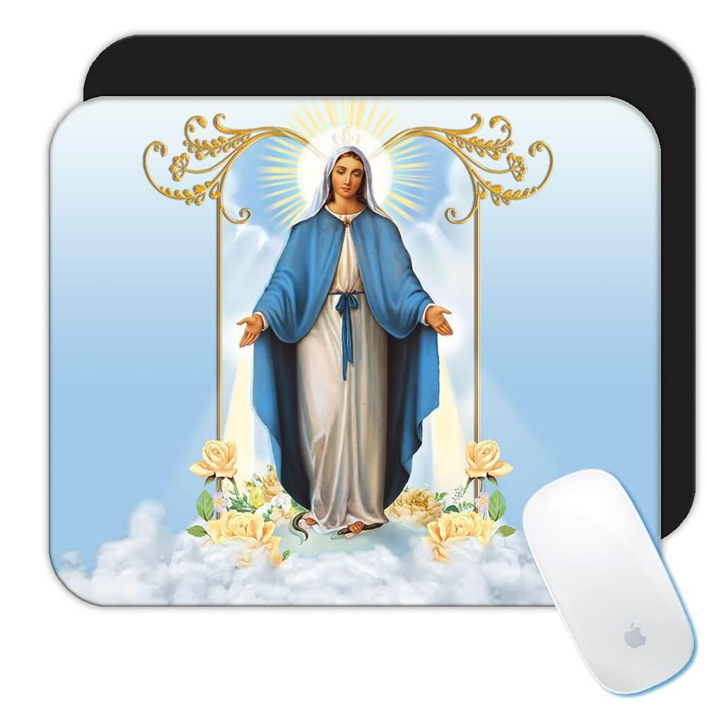 Our Lady of Grace : Gift Mousepad Catholic Saint Religious Virgin Mary