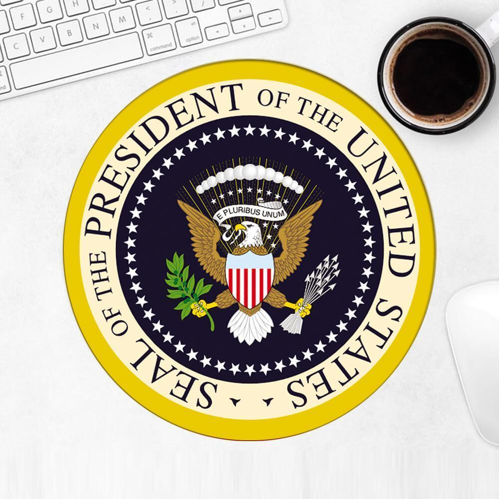 Presidential Seal : Gift Mousepad American Patriot Trump USA United States