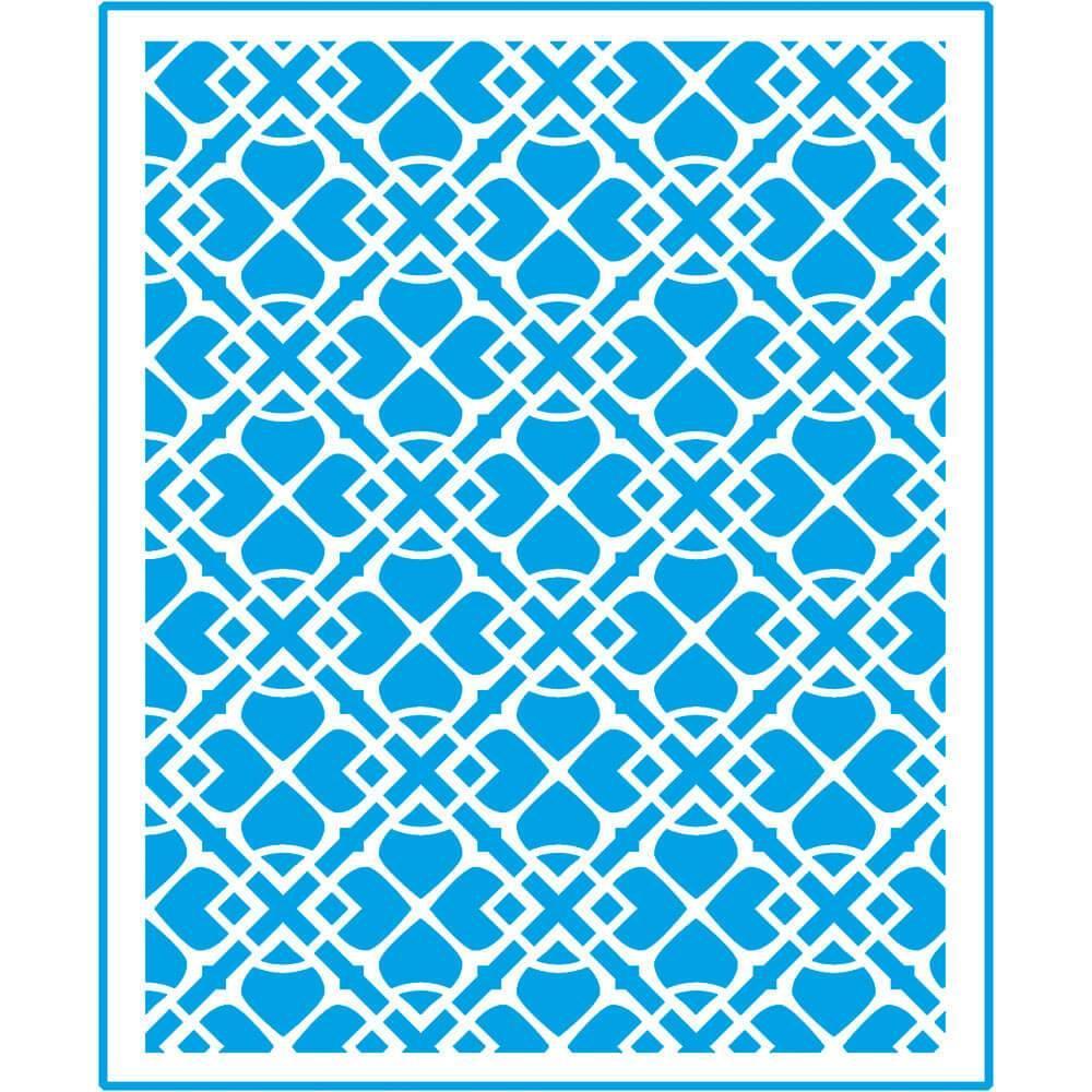 Vintage Ornament 6 3/4 x 8 1/4 in : Laser Cut Stencil Diy Reusable 17x21cm Tile