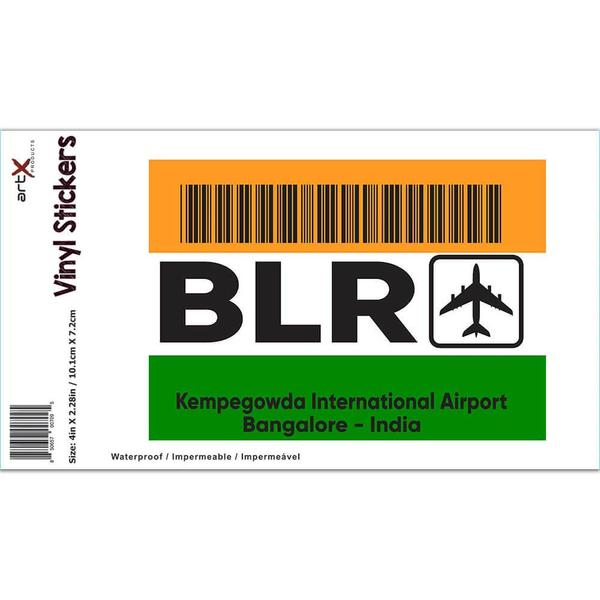 India Kempegowda Airport Bangalore BLR : Gift Sticker Travel Airline Pilot AIRPORT