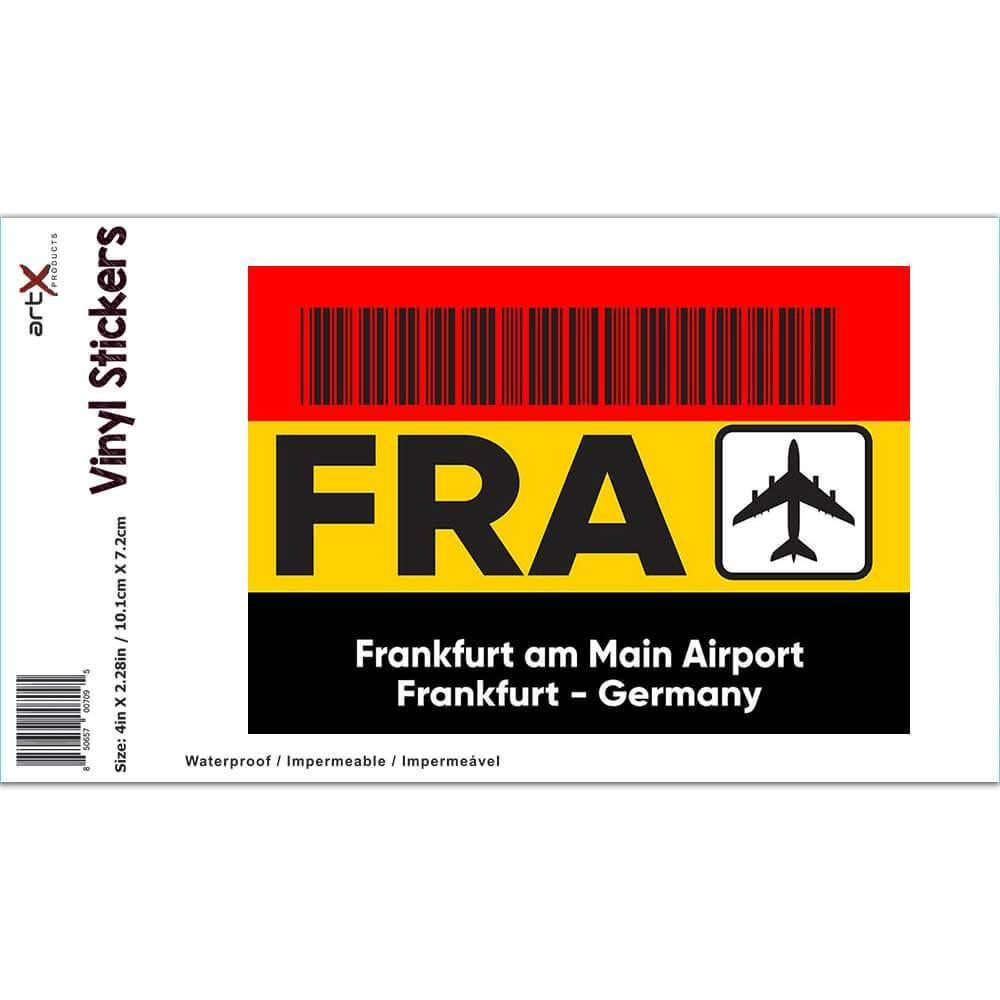 Germany Frankfurt am Main Airport FRA : Gift Sticker Travel Airline Pilot AIRPORT