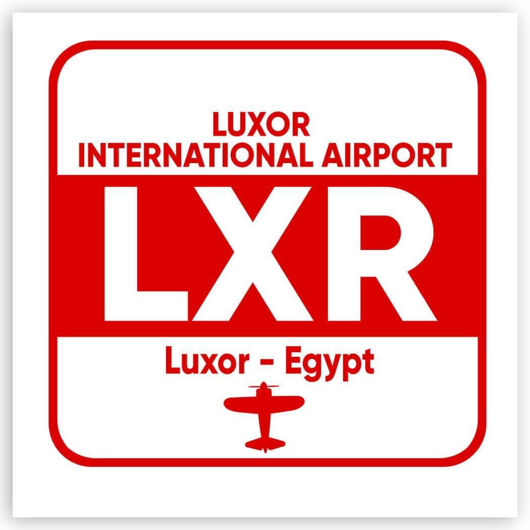 Egypt Luxor Airport Luxor LXR : Gift Sticker Airline Travel Crew Code Pilot AIRPORT
