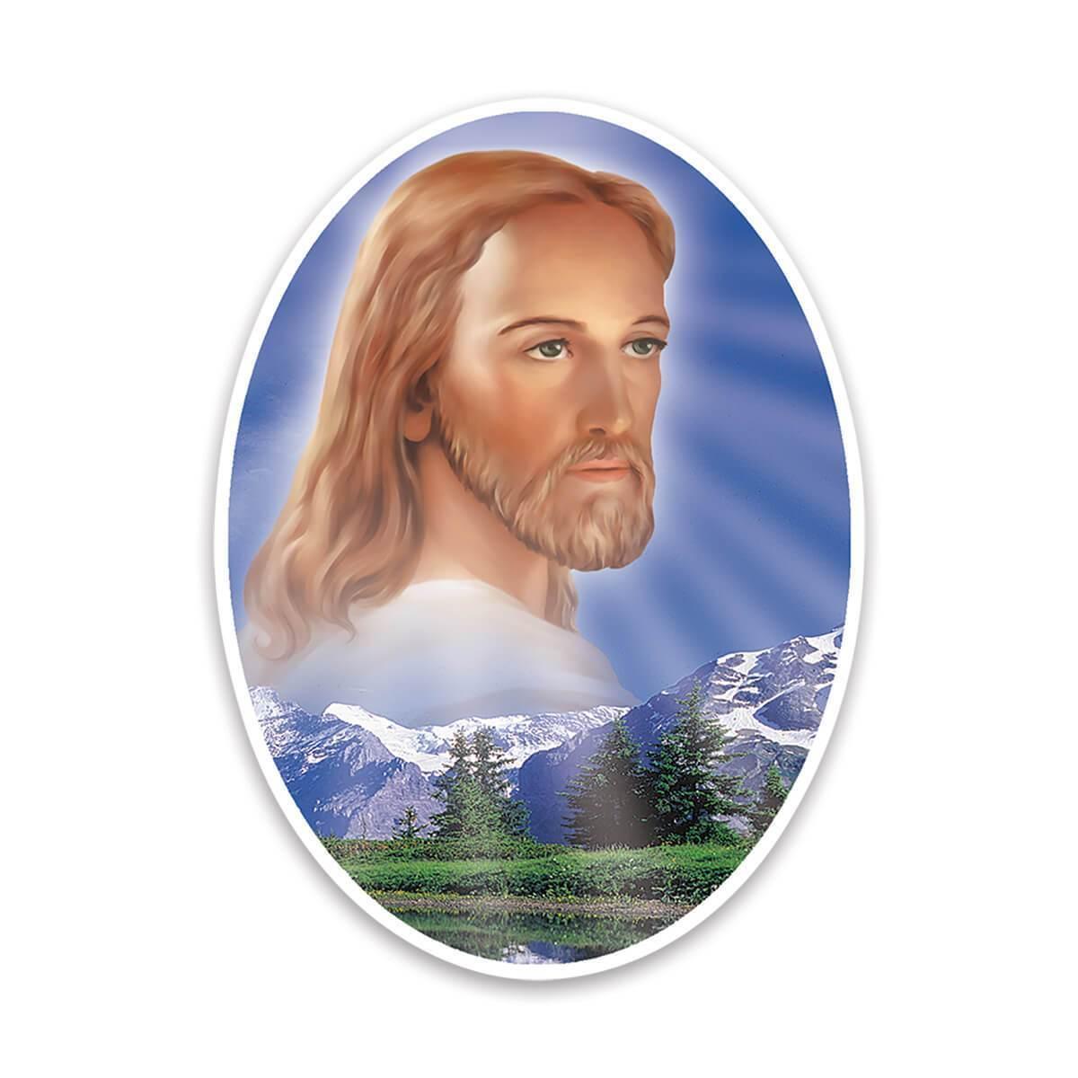 Jesus Christ : Gift Sticker Catholic Religious Saint Religion Classic Faith