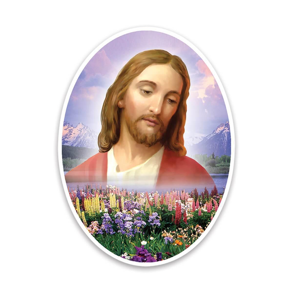 Jesus Christ : Gift Sticker Catholic Religious Religion Classic Faith