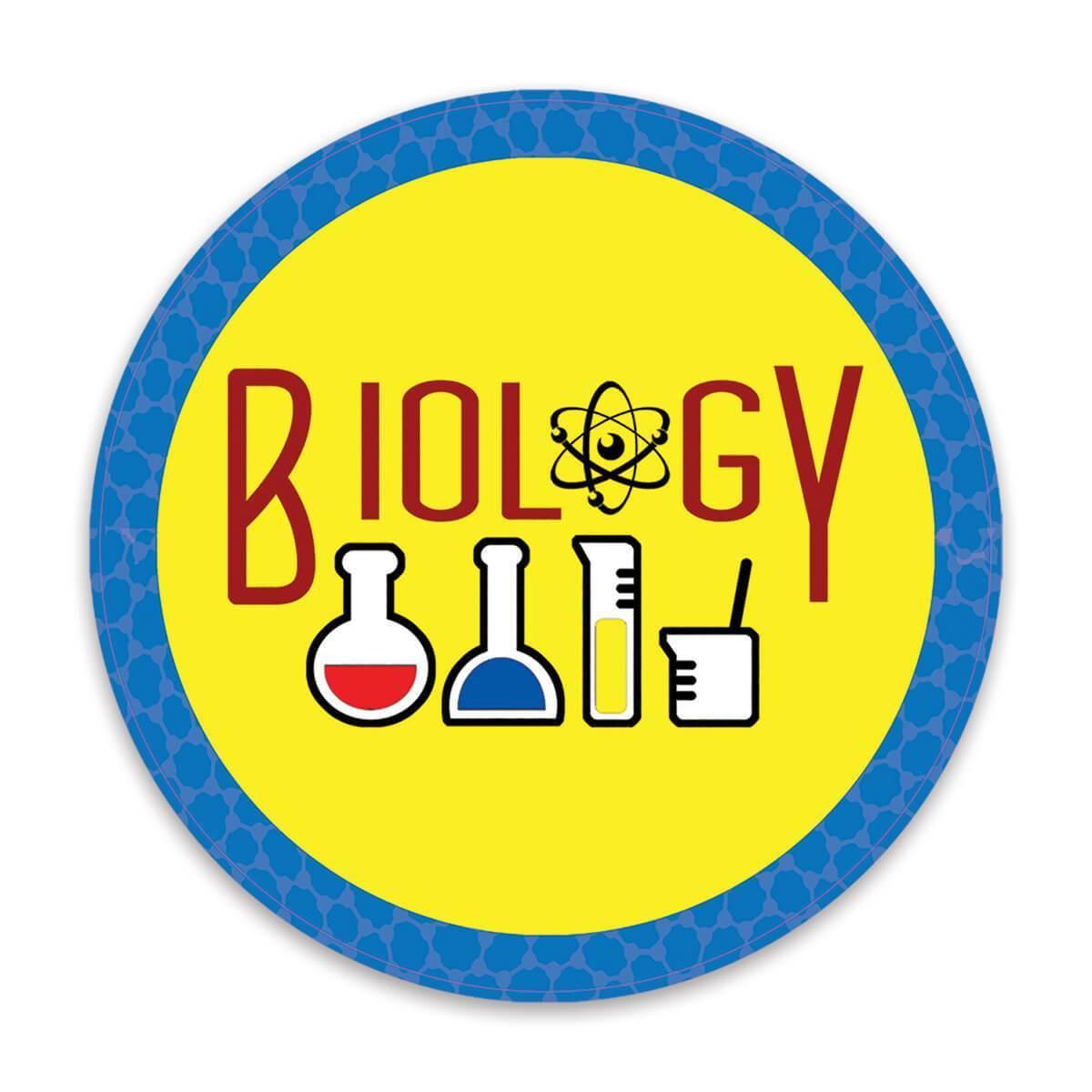 Biology : Gift Sticker Profession Job Work Coworker Birthday Occupation Graduation