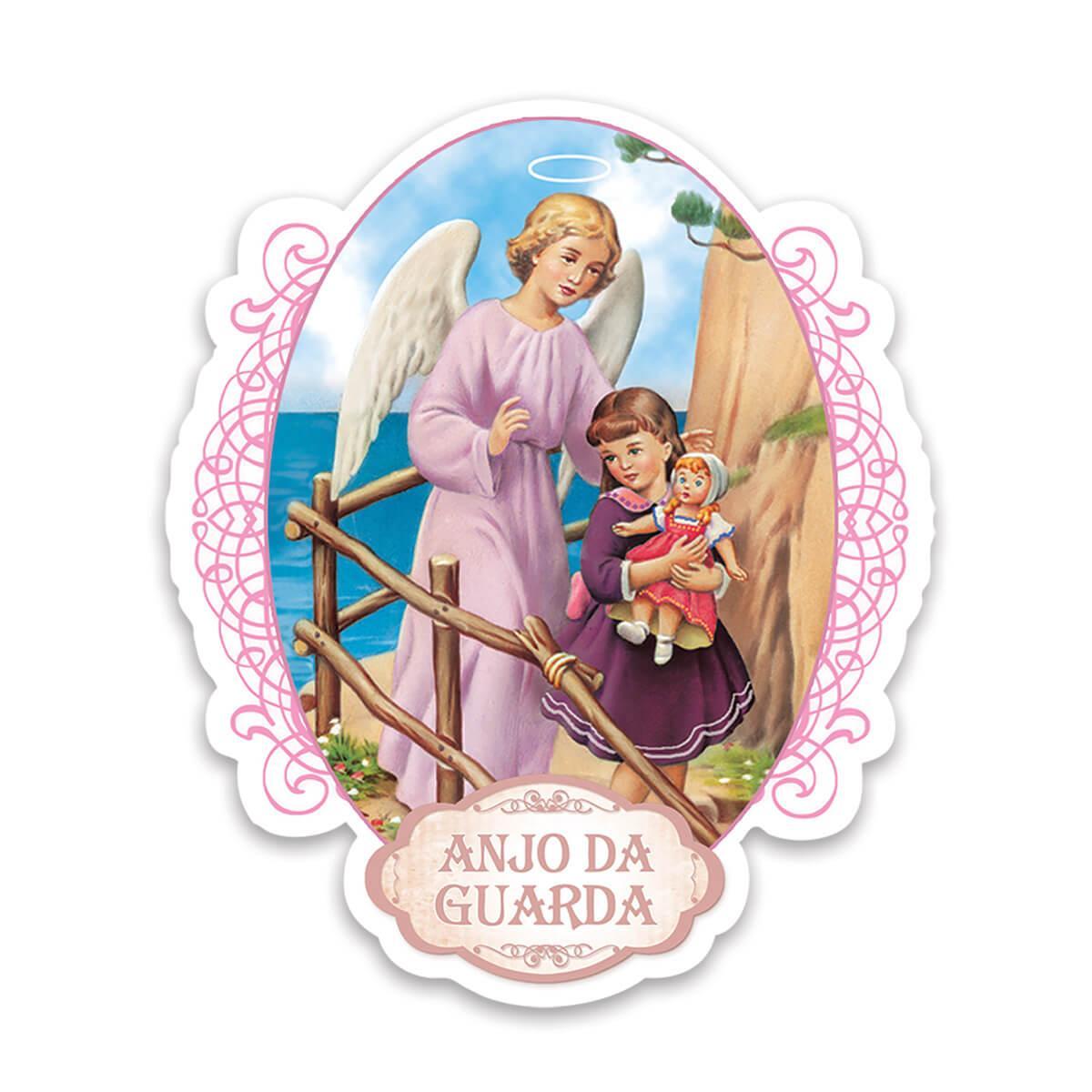 Anjo da Guarda : Gift Sticker Catolico Catolica Religioso Guardian Angel